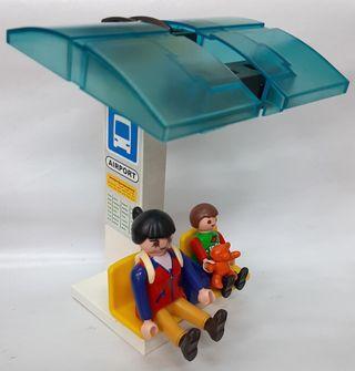 Parada Autobus aeropuerto Playmobil