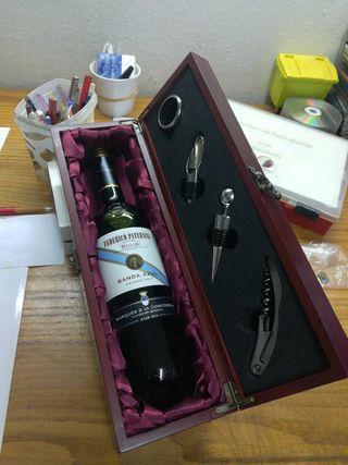 estuche vino