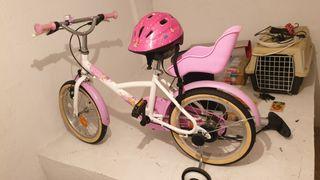 Bicicleta niña b-twin
