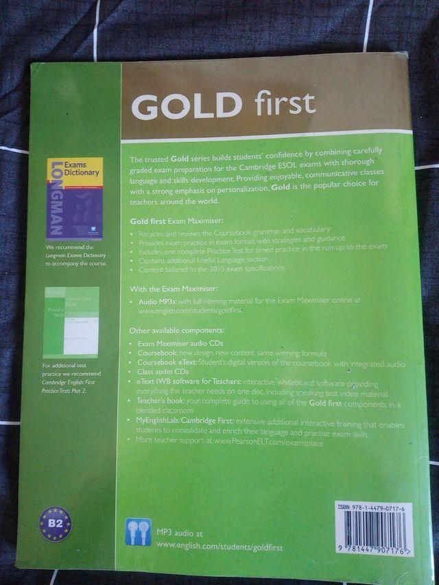 gold first inglés