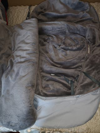 Saco de silla paseo universal. Marca Uzturre azul
