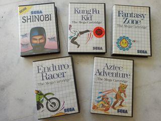 Lote de juegos Sega Master System