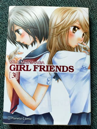 Girl Friends. 1,2,3. Cómic manga. Milk Morinaga