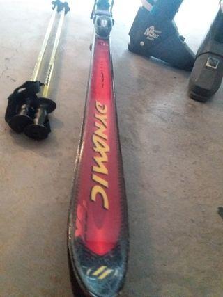 Skis Dynamic y botas Nordica