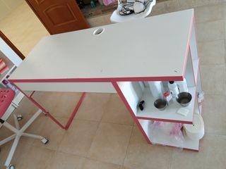 mesa de escritorio para ordenador