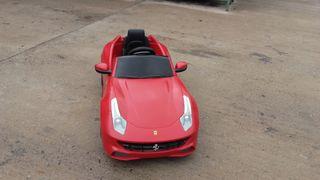 Ferrari coche niños juguete