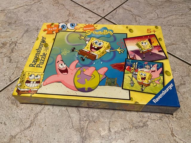 Puzzle Bob Esponja