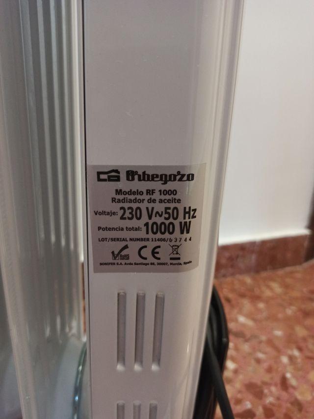 3 radiadores orbegozo