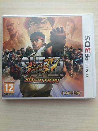 Super STREET FIGHTER IV nintendo 3Ds