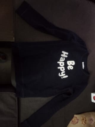 Sudadera jersey Be Happy!