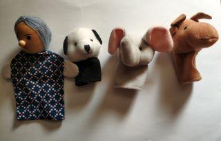 Marioneta dedos