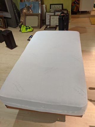 Colchón de 105x190 viscoelastico
