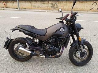 BENELLI Leoncino 500 TRAIL. Apta para A2
