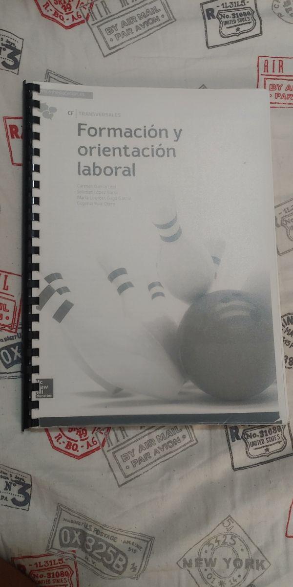 libro formacion y orientación laboral