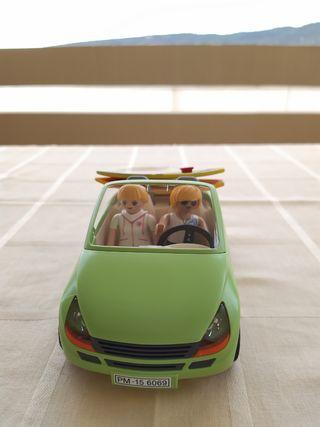 coche de surferos playmobil