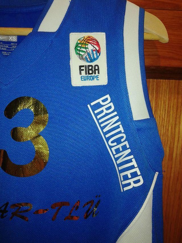 camiseta baloncesto, FIBA, TAMKORV 13