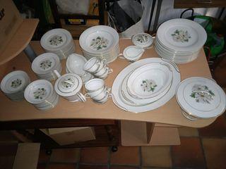 Vajilla porcelana japonesa KC