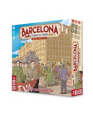 Barcelona, La rosa de fuego - Juego de mesa NUEVO