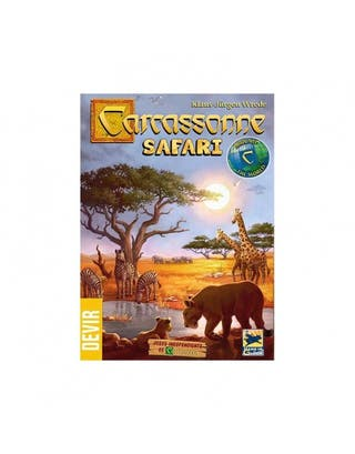Carcassonne Safari - Juego de mesa - NUEVO