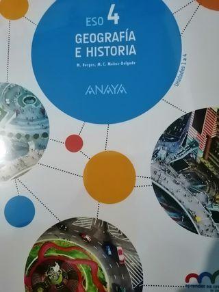 Geografía E Historia 4 eso Anaya