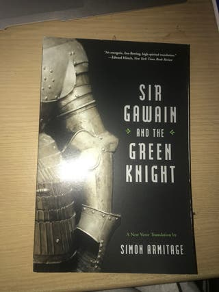 Sir Gawain and Green Knight - Simon Armitage