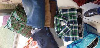 lote de ropa para chico talla 12 a años