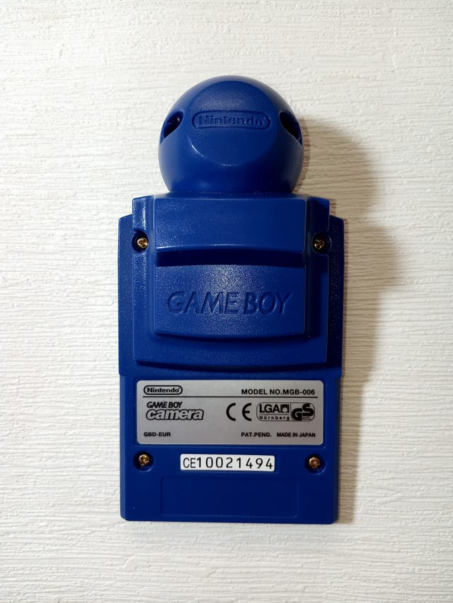 Nintendo Game Boy Pocket Azul + Camera + Printer