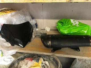 tubo de escape akrapovic+variador