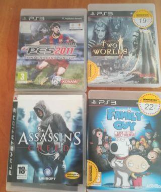 lote juegos psp3