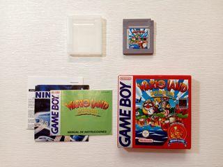 Juego Game Boy Super Mario Land 3 Wario Land