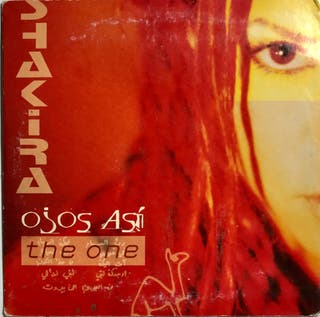 CD Single Shakira Ojos Así. The one