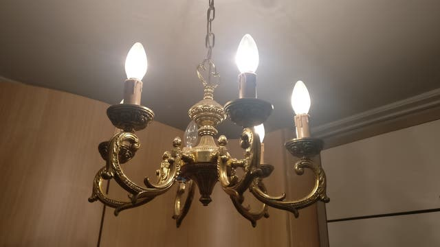 3 Lámparas de techo vintage