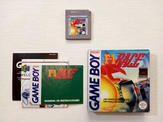 Juego F1 Race Game Boy
