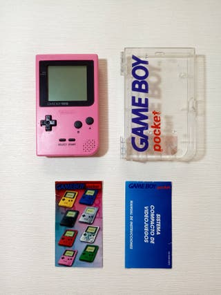 Nintendo Game Boy Pocket Rosa