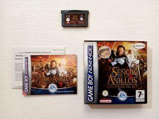 Game Boy Advance El Señor de los Anillos