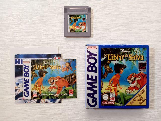 Juego El Libro de la Selva Game Boy