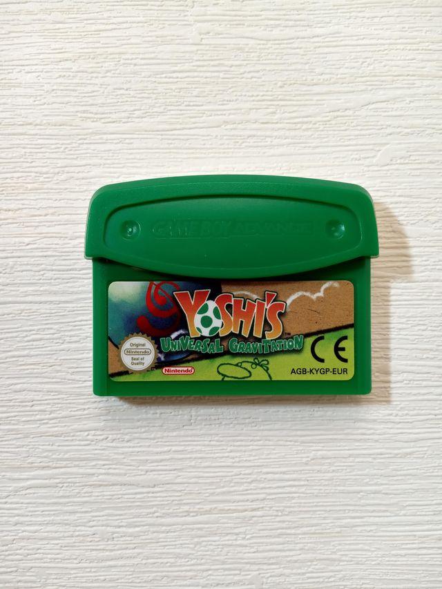 Game Boy Advance Yoshi's Universal Gravitation