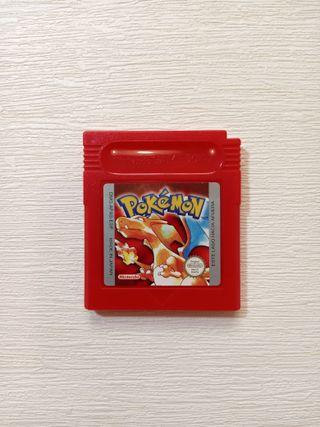 Game Boy Pokemon Edición Roja