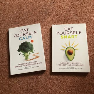 Eat Yourself Smart & Calm 2 Books Set