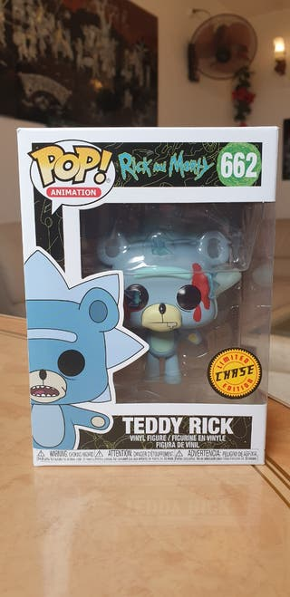 Funko Pop Rick and Morty Teddy Rick Chase 662