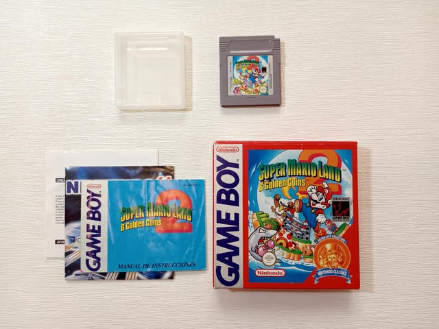 Juego Game Boy Super Mario Land 2