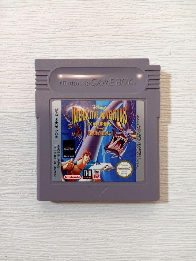 Juego Hércules Game Boy