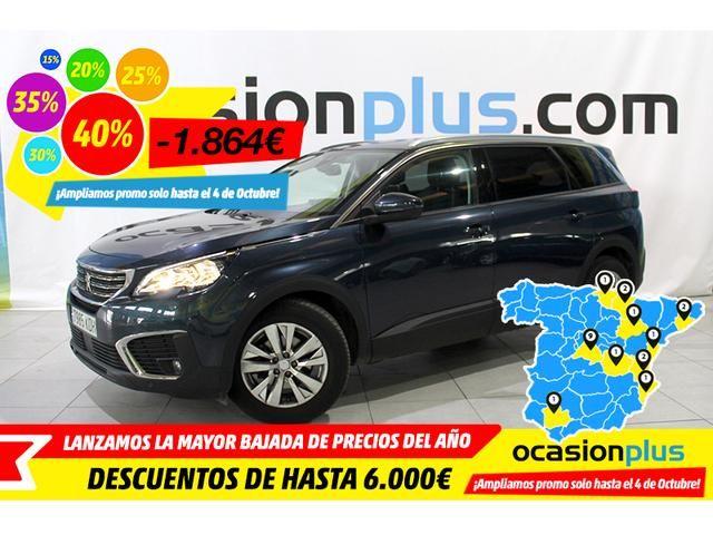 Peugeot 5008 Suv 1 6l Bluehdi Sands Active 88 Kw 120 Cv De Segunda Mano Por 20 500 En Barcelona En Wallapop