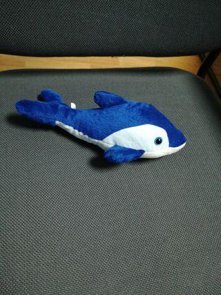 peluche delfin