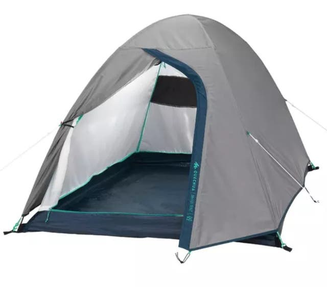 tente de camping 2 personnes dechatlon