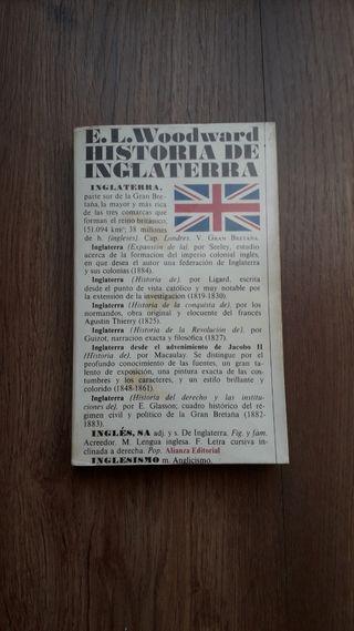 Historia de Inglaterra, E Woodward