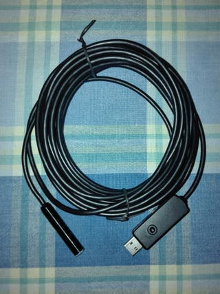 Endoscopio USB con Leds de 7 Metros de cable