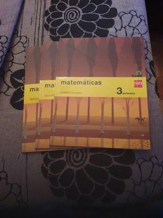 Matemáticas 3 primaria savia SM escolapios