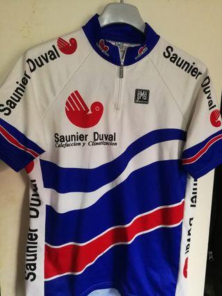 maillot de ciclismo Santini