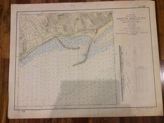 Carta náutica Puerto Arenys de Mar